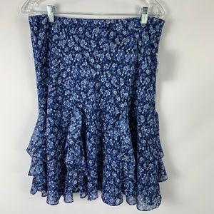 NWT American Living Medium Skirt Peasant Ruffle
